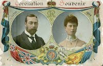Coronation Souvenier of King George V and Queen Mary