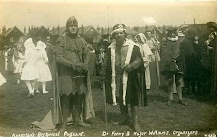 Kingston's Hisotrical Pageant.  Dr Finny & Major Williams, organisers